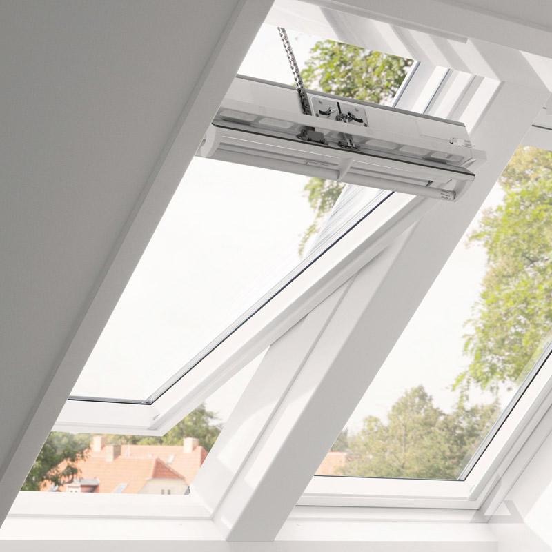 velux integra kunststoff schwingfenster ggu solar g nstig. Black Bedroom Furniture Sets. Home Design Ideas