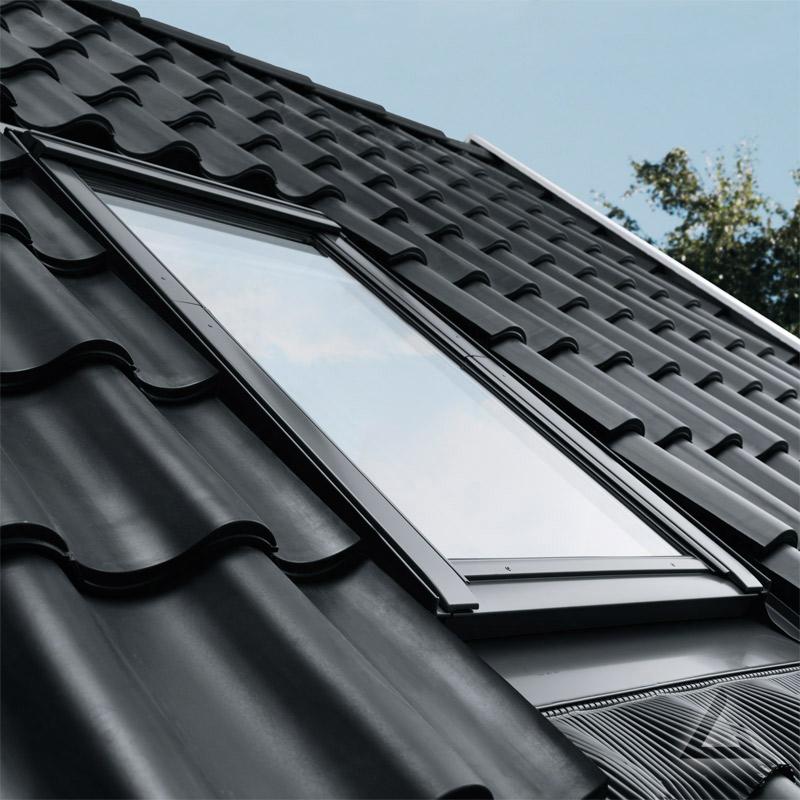 velux integra elektrofenster ggu fk04 sd0j221 polyurethan thermo plus alu inklusive. Black Bedroom Furniture Sets. Home Design Ideas