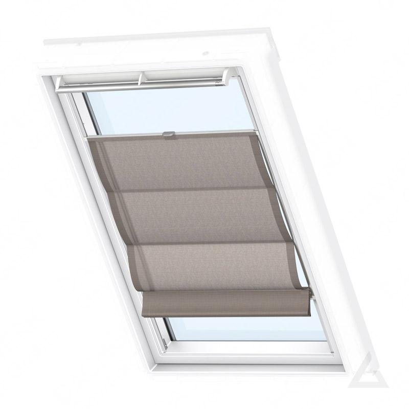 velux raff rollo fhb 102 6518 struktur schokolade g nstig kaufen bei dachgewerk. Black Bedroom Furniture Sets. Home Design Ideas