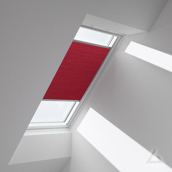 velux plissees faltstores im dachgewerk dachfenster shop. Black Bedroom Furniture Sets. Home Design Ideas