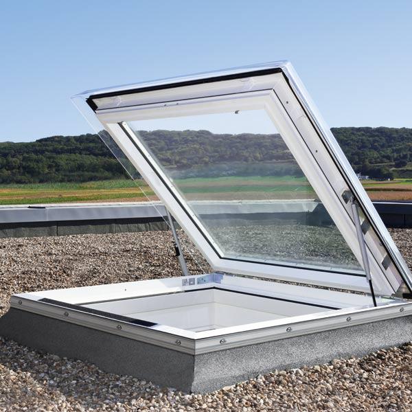 VELUX Flachdach-Ausstiegsfenster