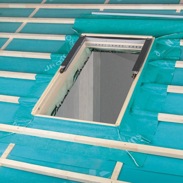fakro d mm und anschlussmaterial im dachgewerk. Black Bedroom Furniture Sets. Home Design Ideas