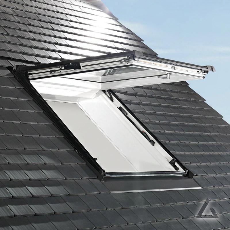 Gut bekannt Roto Designo R8 Klapp-Schwingfenster WDF R89PK W WD AL 11/16 LV75