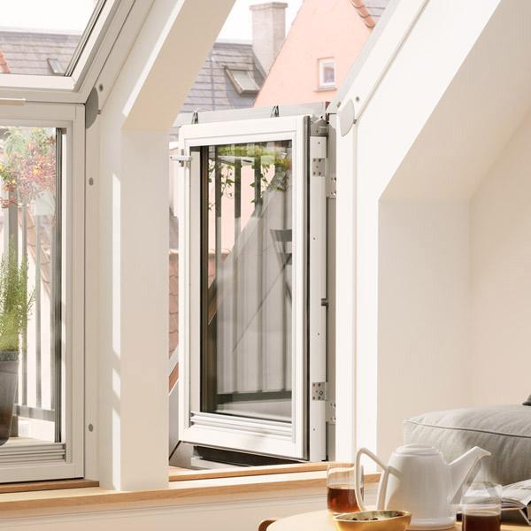 velux zusatzelemente im dachgewerk dachfenster shop. Black Bedroom Furniture Sets. Home Design Ideas