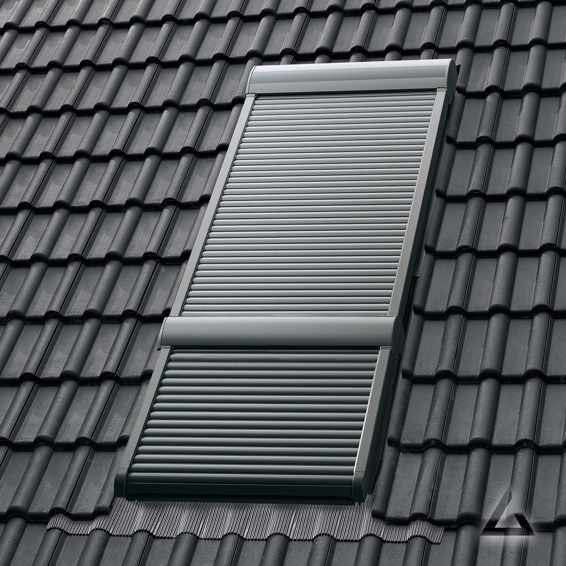 Aluminium Dunkelgrau VELUX Elektro-Rollladen SML MK06 0000S