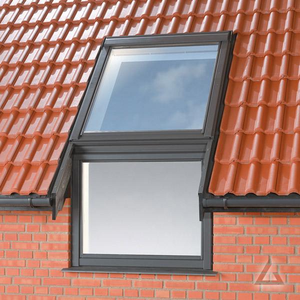 velux eindeckrahmen im dachgewerk dachfenster shop