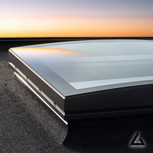 Flachdachfenster Verglasung ISD
