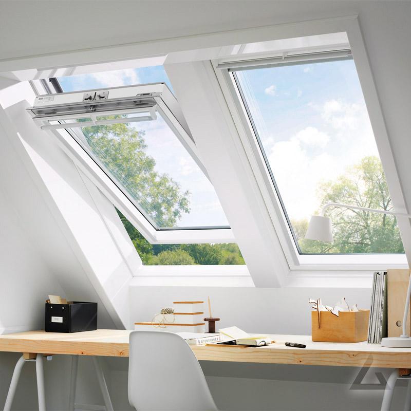 VELUX Schwingfenster GGL UK10 2066 weiß lackiert ENERGIE ...