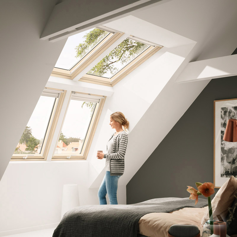 velux lichtl sung panorama zwilling gpl holz g nstig kaufen bei dachgewerk. Black Bedroom Furniture Sets. Home Design Ideas
