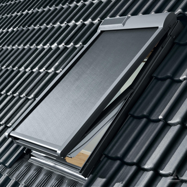 velux markise solar msl uk08 5060 uni schwarz günstig kaufen bei