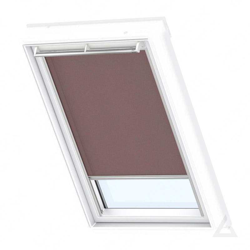 velux rollo manuell rfl 102 4060s uni braun im dachgewerk online shop. Black Bedroom Furniture Sets. Home Design Ideas