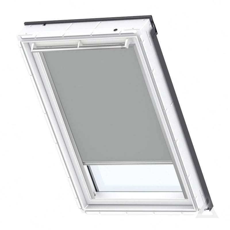 velux verdunkelungs rollo solar dsl m08 0705s uni grau g nstig kaufen bei dachgewerk. Black Bedroom Furniture Sets. Home Design Ideas