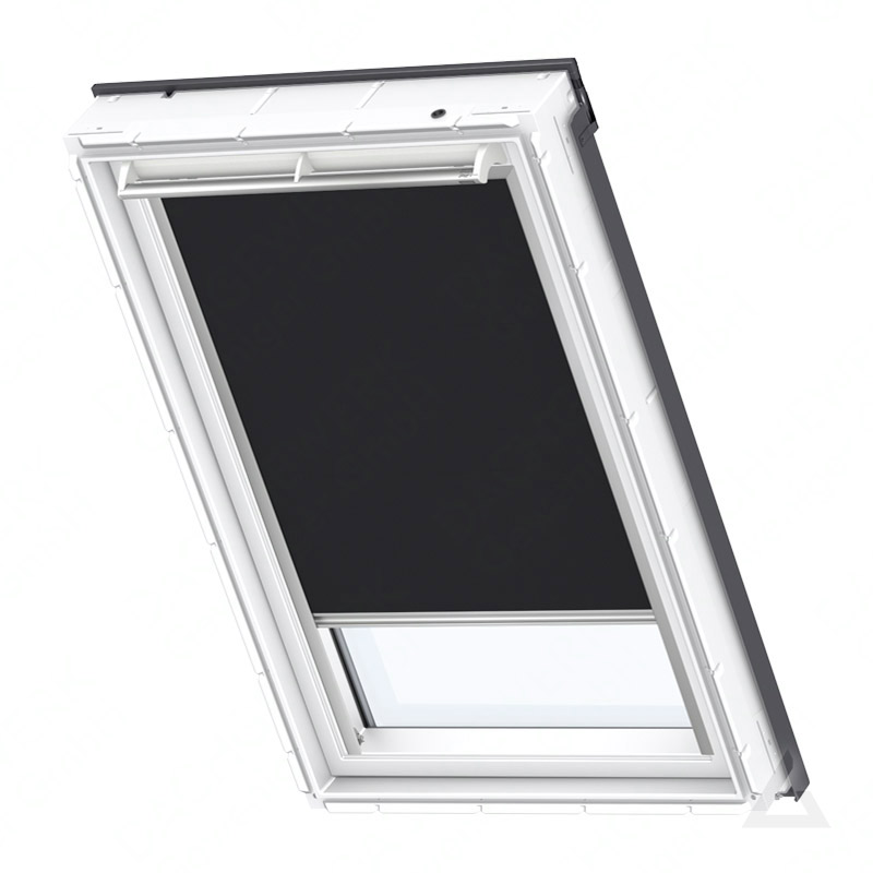 velux verdunkelungs rollo solar dsl p31 3009s uni schwarz. Black Bedroom Furniture Sets. Home Design Ideas