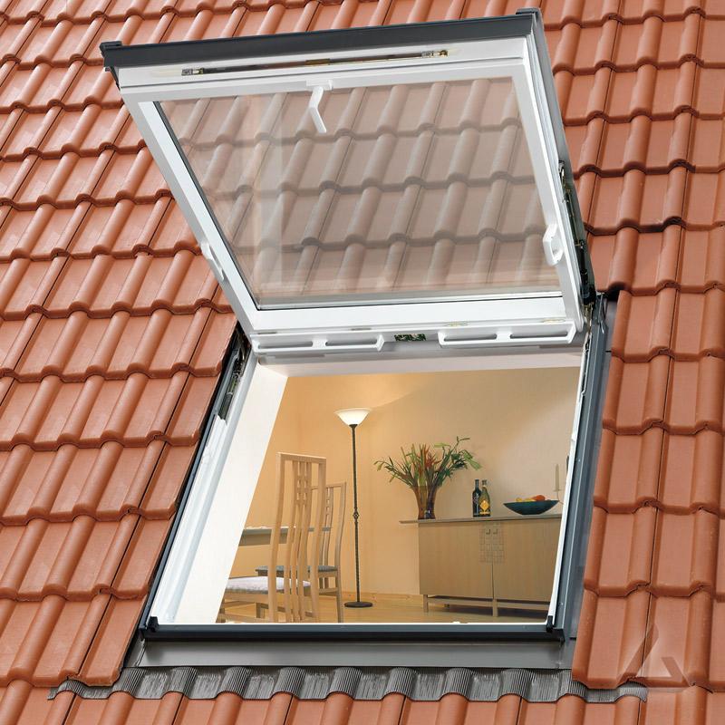 Velux wohn ausstiegsfenster gtu mk08 0070 polyurethan for Wohnraumfenster kunststoff