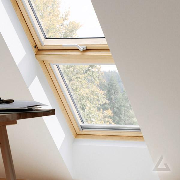 VELUX Zusatzelement Dachschräge GIL Holz