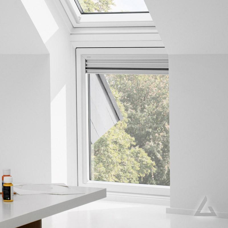 velux zusatzelement wand viu kunststoff festverglast g nstig kaufen bei dachgewerk. Black Bedroom Furniture Sets. Home Design Ideas
